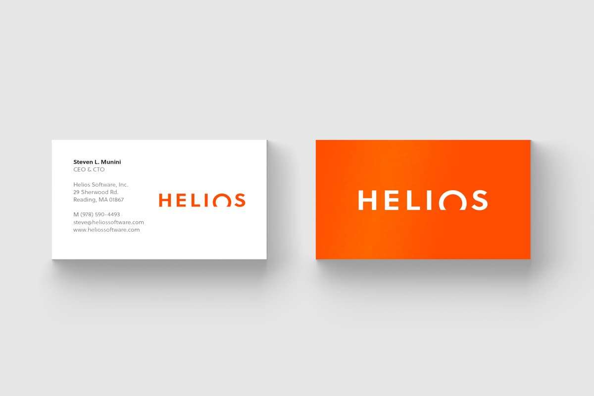 Helios Business Cards Design