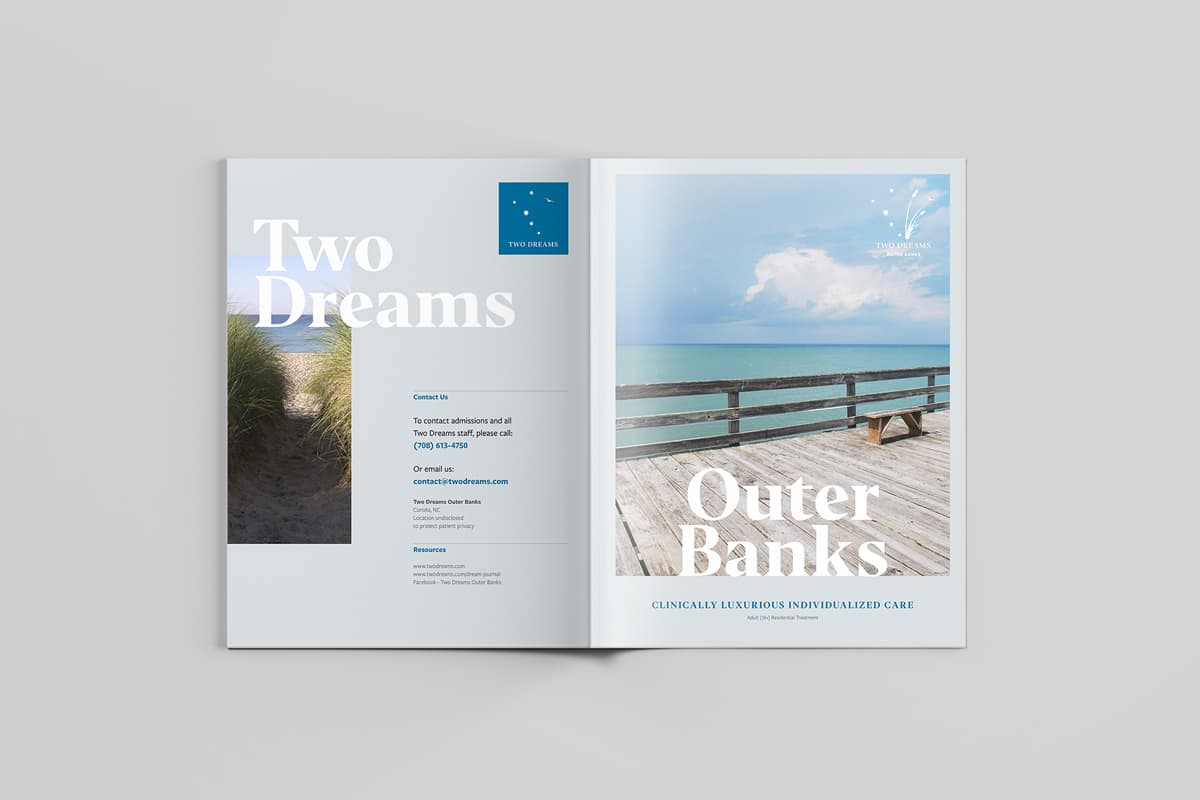 Two Dreams Promotional Booklet Design